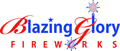 Blazing Glory Fireworks Logo